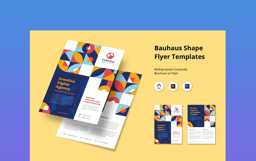 Creative Business Flyer Template PSD