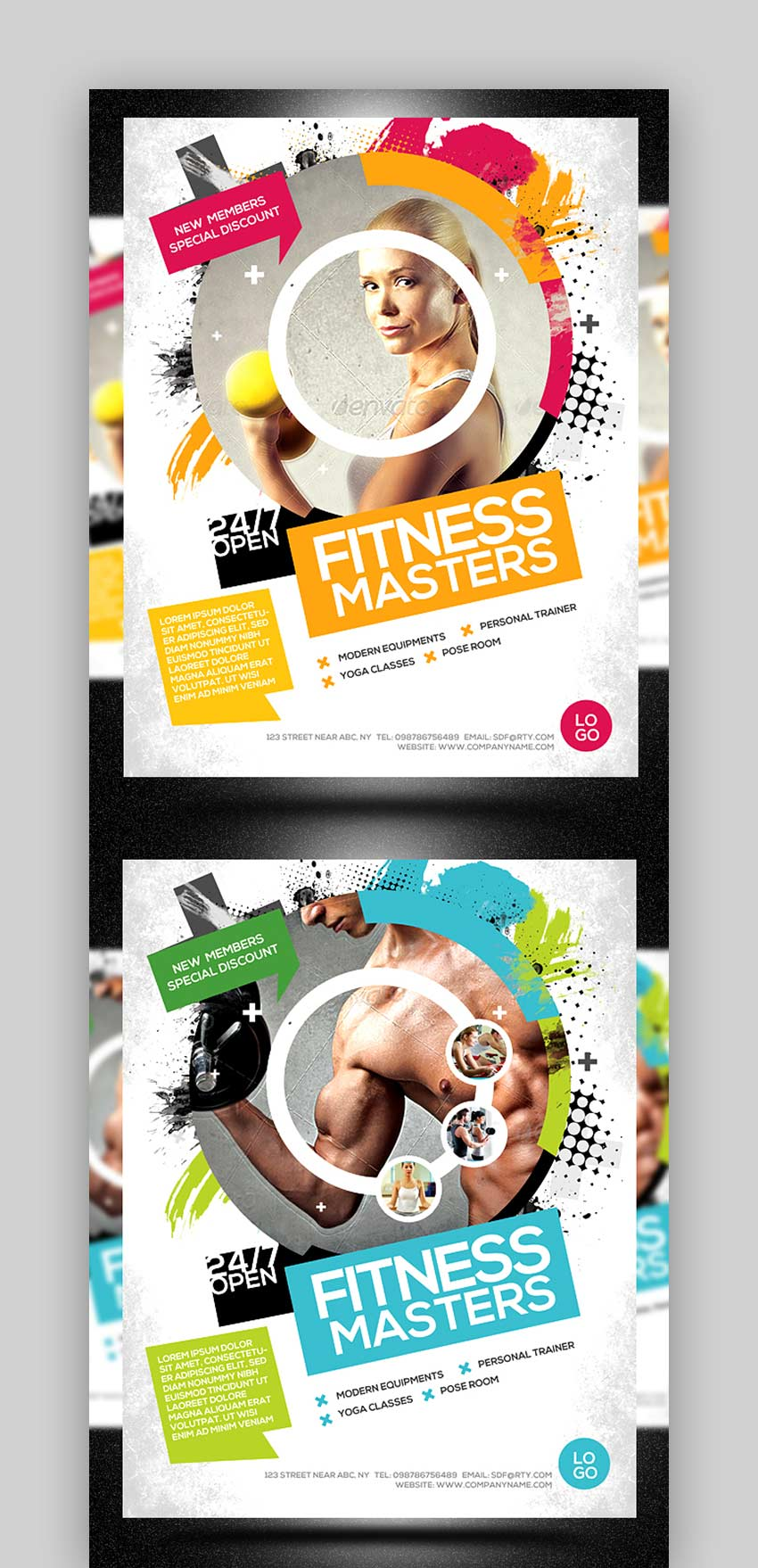 Fitness or Gym Flyer