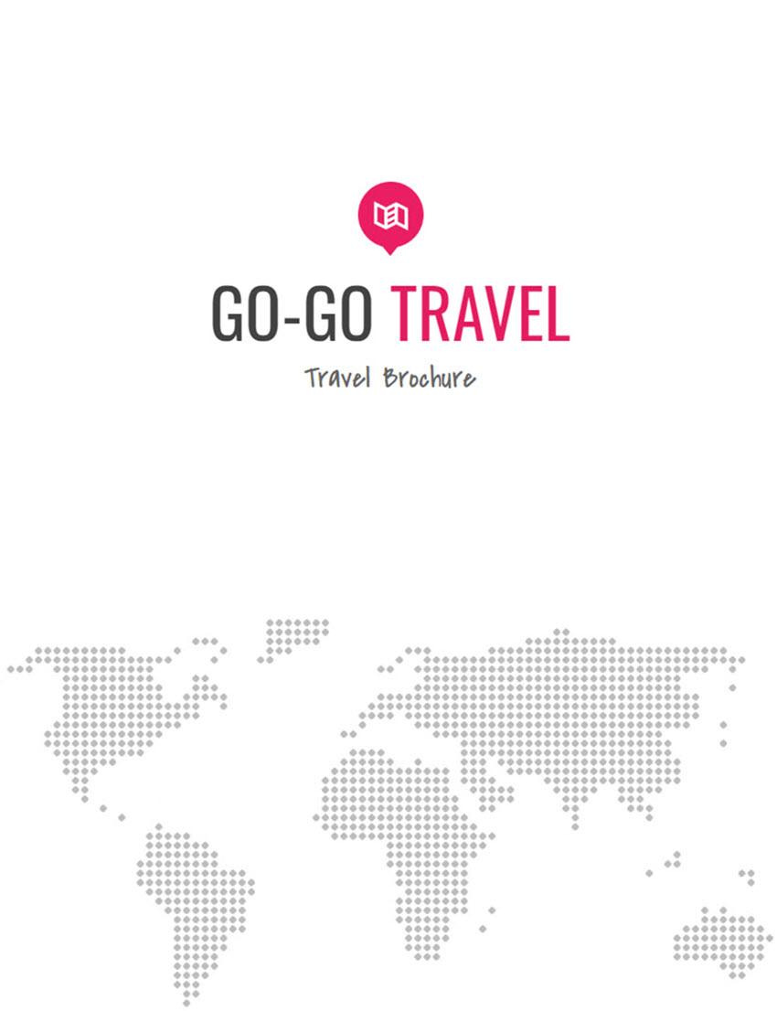 Travel - Google Docs Flyer Template Free