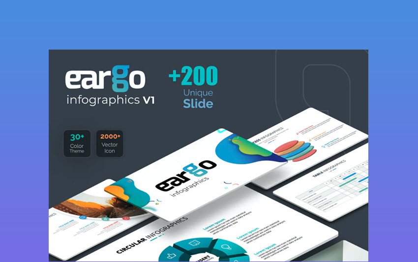 Eargo - Infographics PowerPoint Template