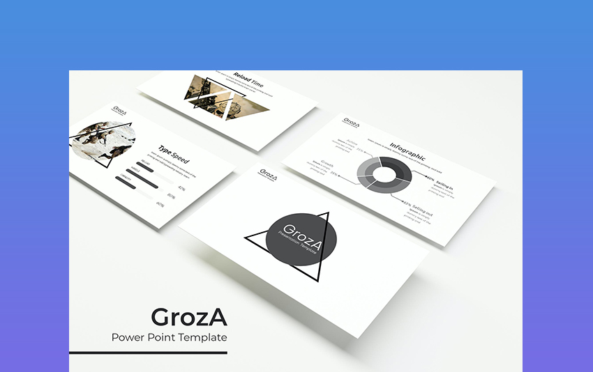 GrozA - War Themed PowerPoint Template