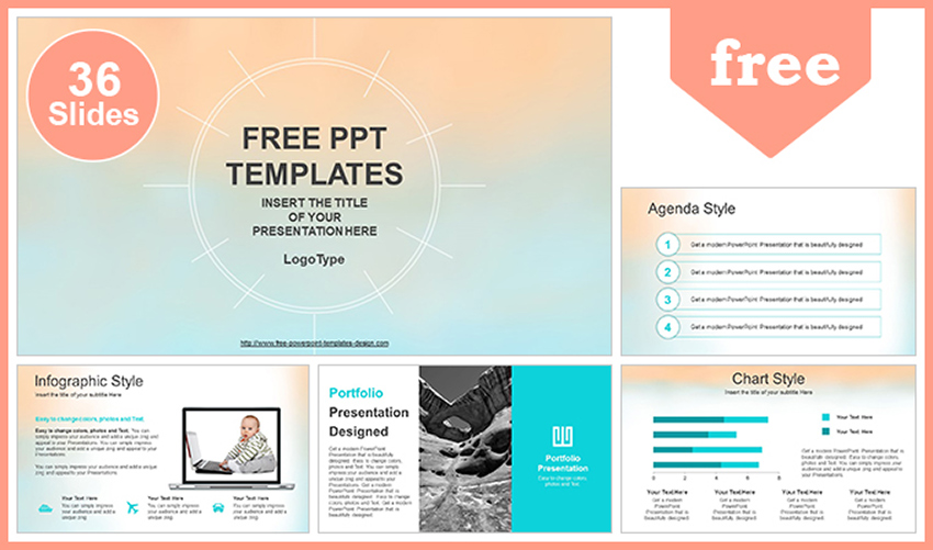 25 Best Free Cute Pastel Colors Powerpoint Ppt Templates