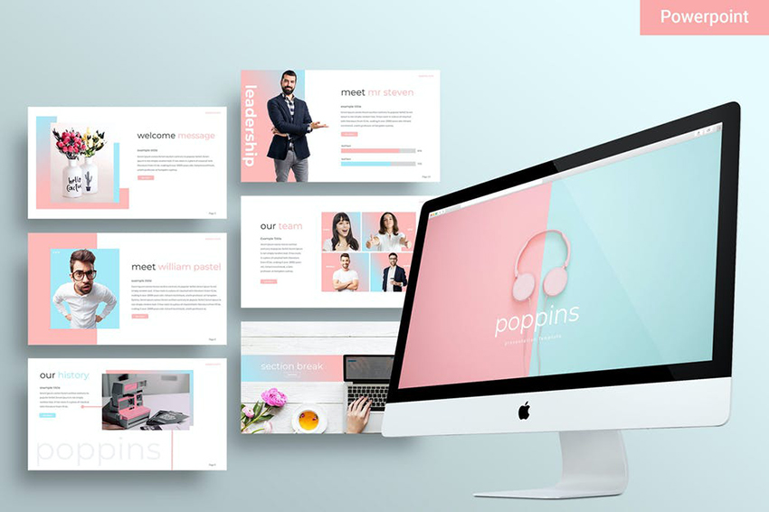 25 Best Free Cute Pastel Colors Powerpoint Ppt Templates To Download 2020