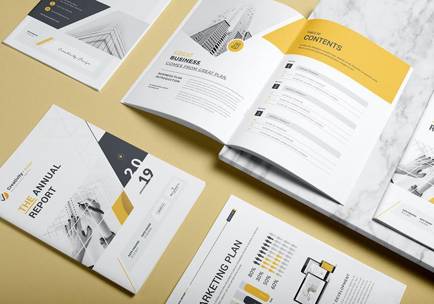 Corporate Annual Report Template