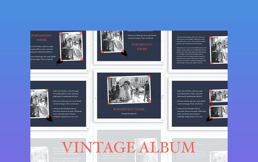 Album - Vintage Template