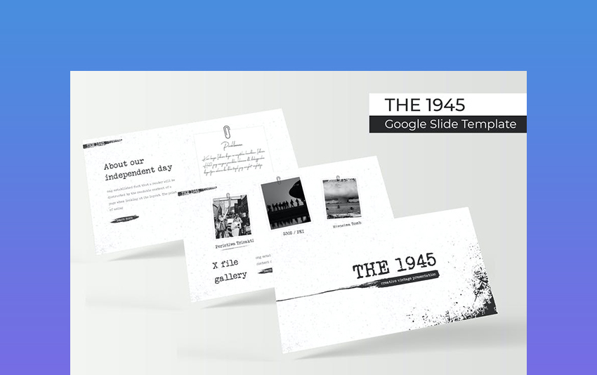25 Best Free Retro Powerpoint Themes With Vintage Old Fashioned Designs