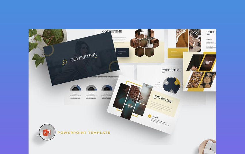 Coffee Time - PowerPoint Template