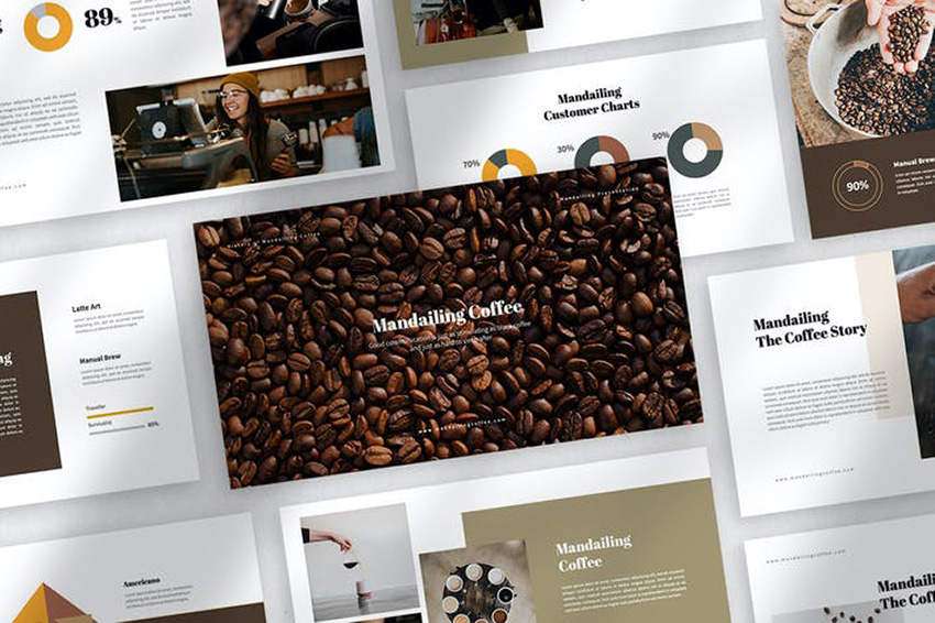 25 Best Free Coffee Themed Powerpoint Ppt Templates For 2021