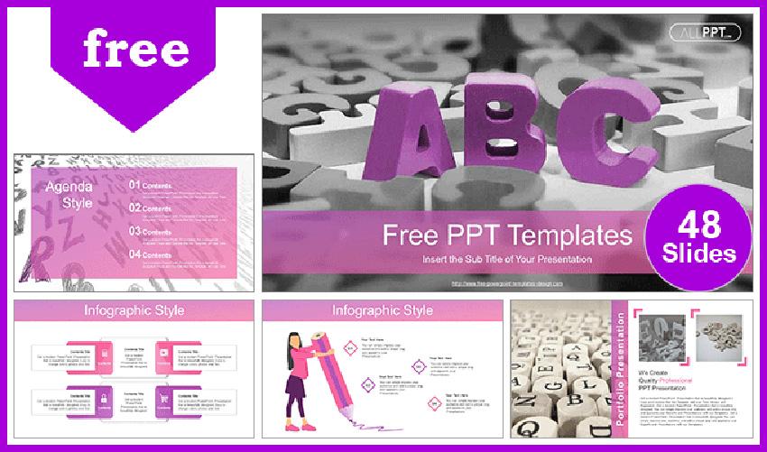 ABC Alphabet Blocks - Free Funny PowerPoint Topics