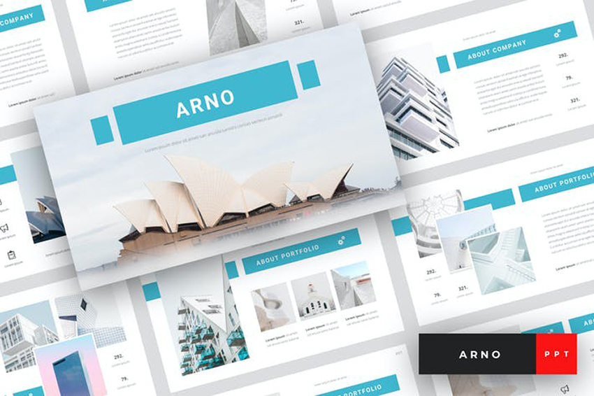 Arno - Architectural PowerPoint Template