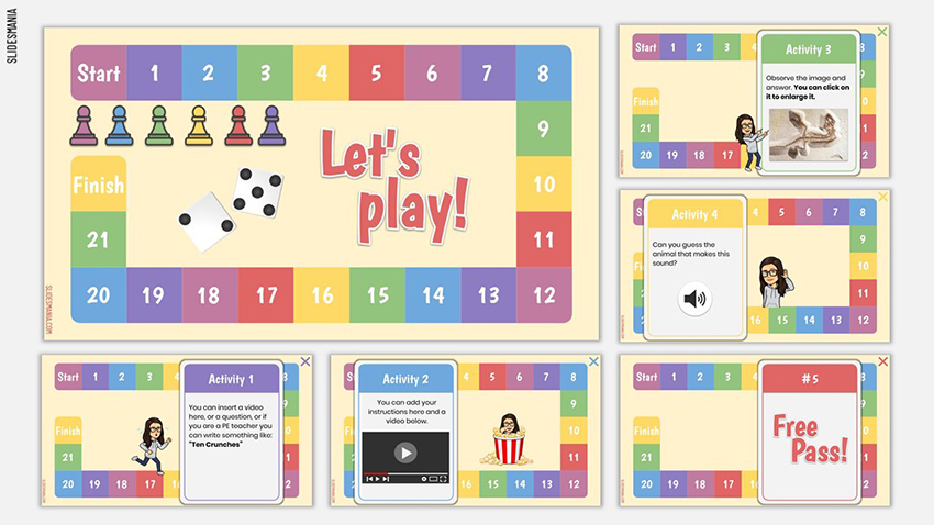 Digital Board Game - Free Multimedia Presentation Download