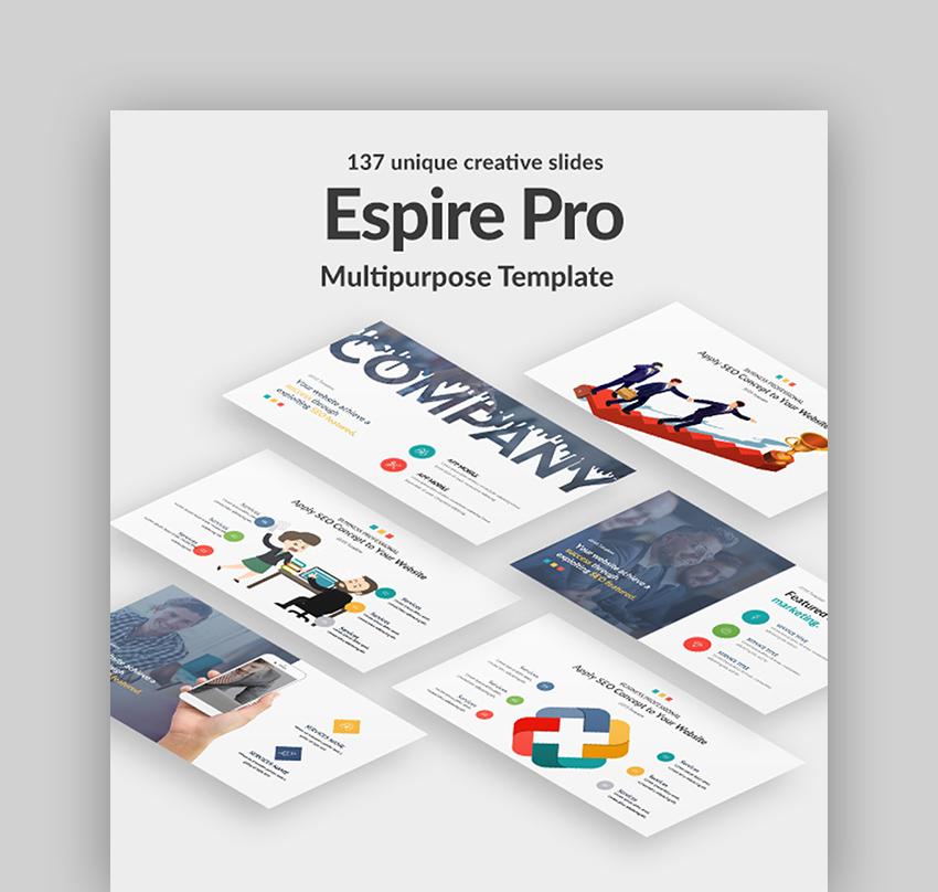 Espire - Multimedia PPT Template