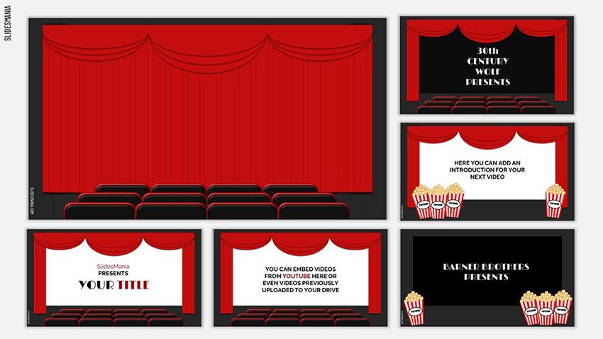 Hepburn - Free Multimedia PowerPoint Presentation Slide
