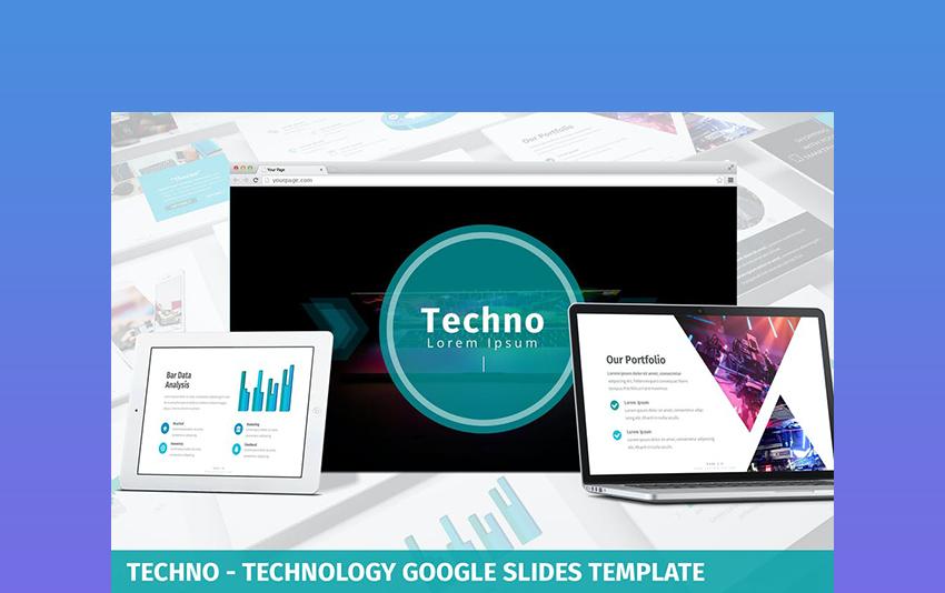 Techno - Technology PPT Template