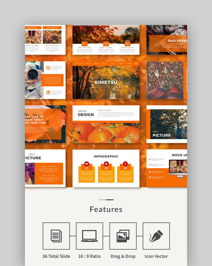 Autumn Multipurpose PowerPoint Template