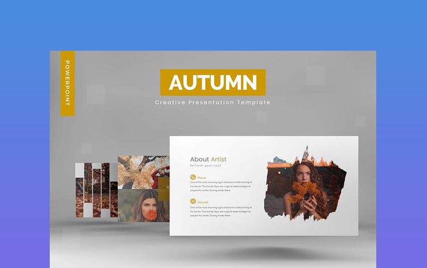 Fall PowerPoint Background Template