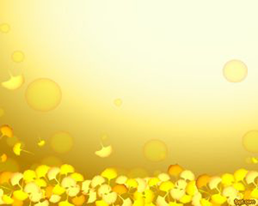 Yellow - Free Fall PowerPoint Backgrounds Autumn