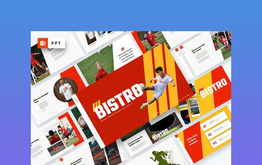 Bistro - Soccer & Football PPT Download