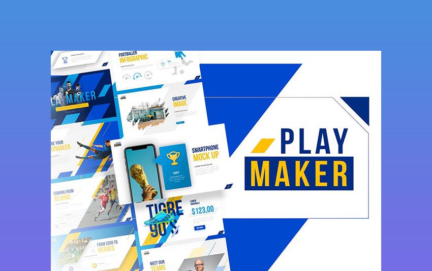 Playmaker - Soccer PowerPoint Presentation Template