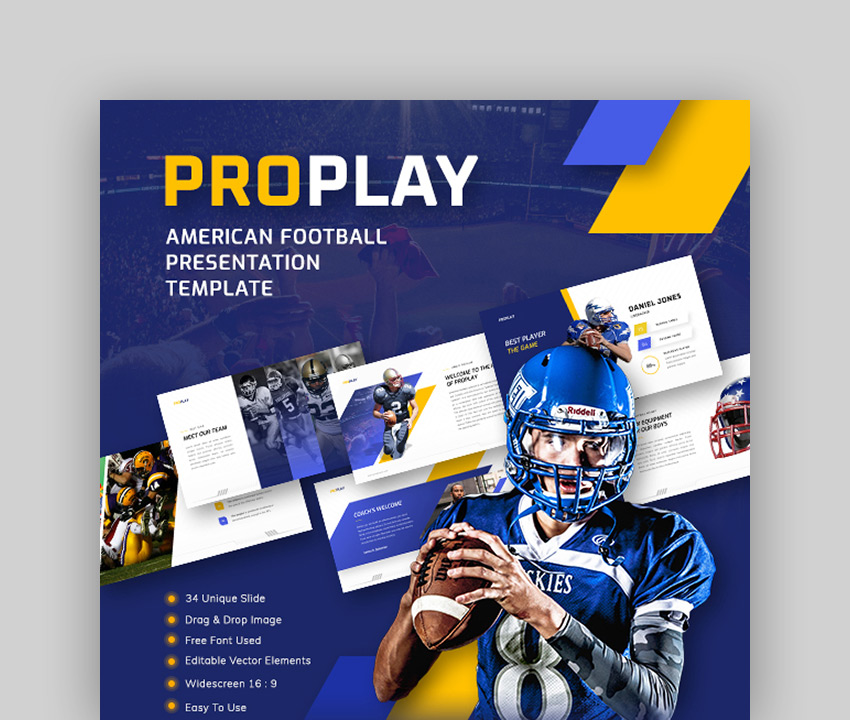 Proplay American Football PPT Download