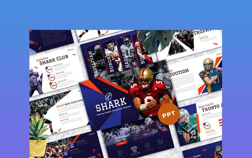 Shark American Football Presentation Template