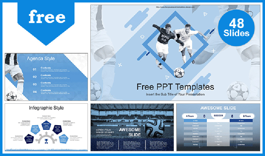 Soccer PowerPoint Templates Free Download