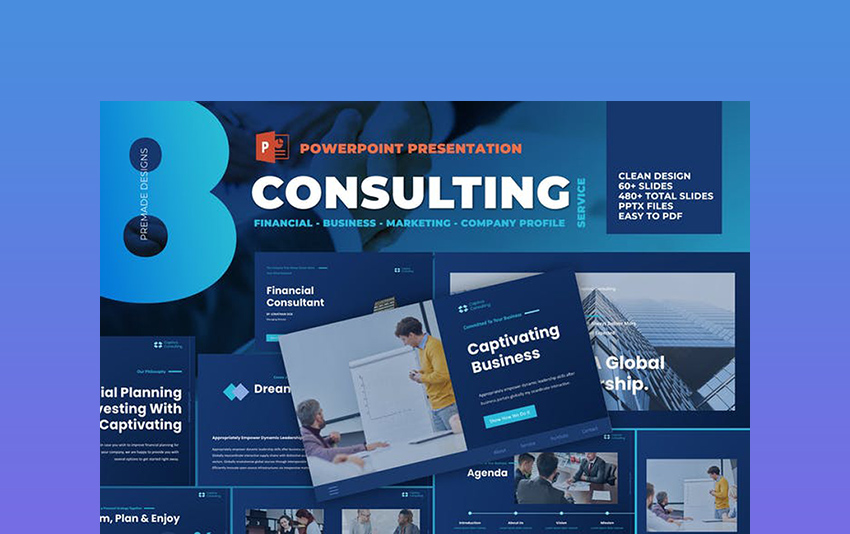 Business Consulting Powerpoint Template