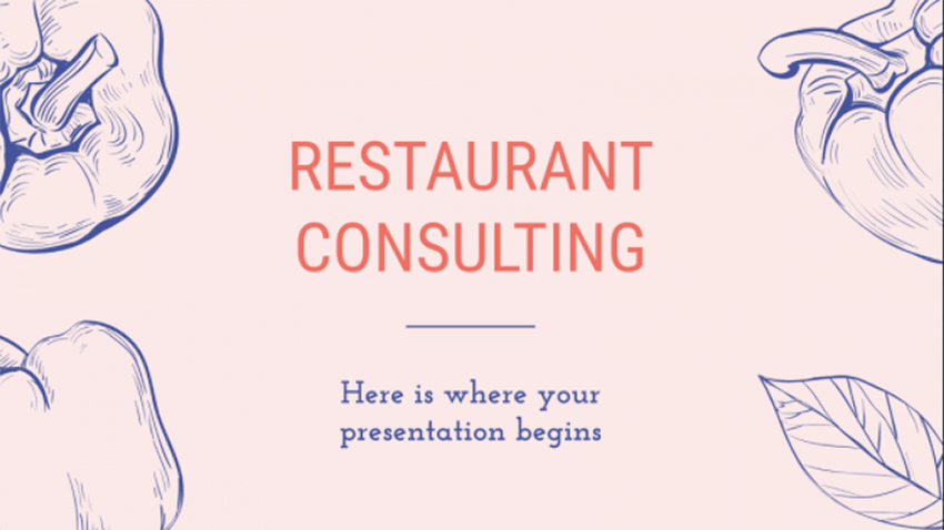 Free Restaurant Consulting Slides