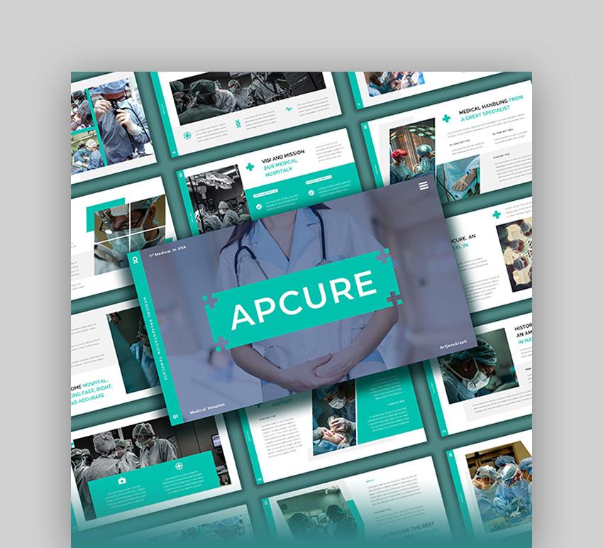 Apcura - Medical PowerPoint Template
