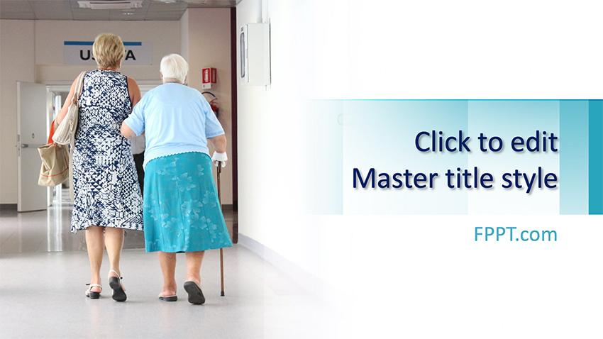 Nursing Home - Free PPT Template