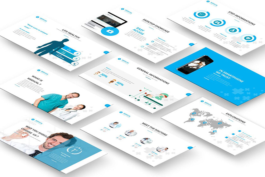 Nursing and Health PowerPoint Template
