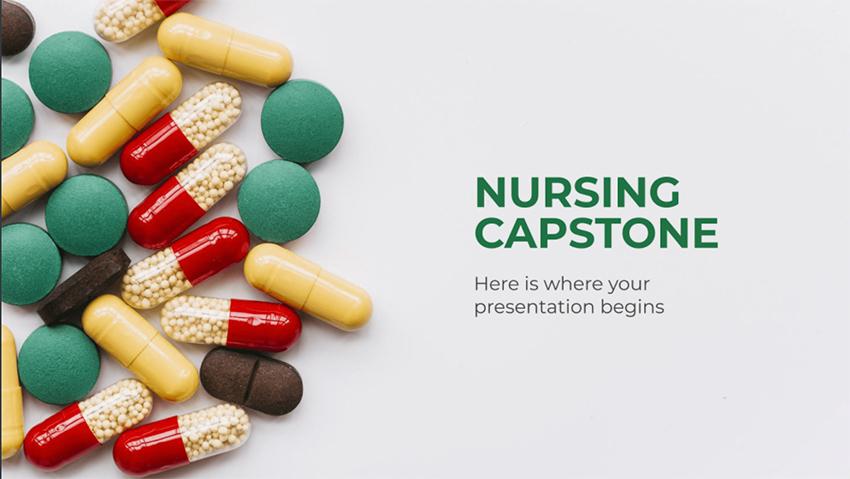 Nursing Capstone - Free PowerPoint Templates Nursing