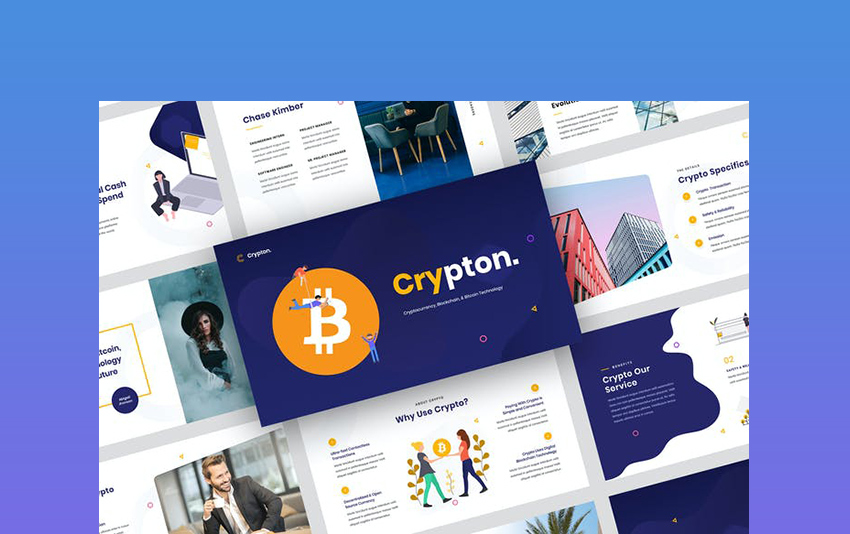 Crypton - Cryptocurrency PowerPoint Template