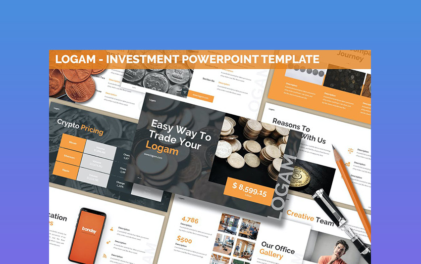 Logam - Money Investment Powerpoint Template