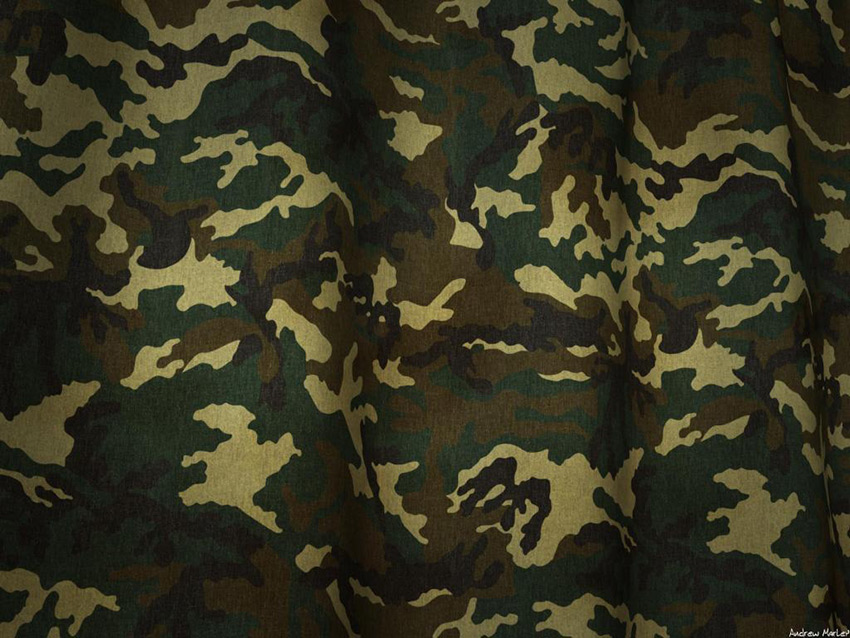 Clipart PPT Camouflage Background Free