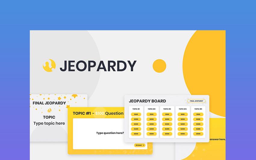 Google Jeopardy Slides Template