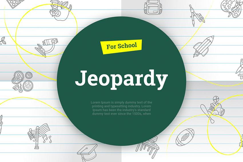 Google Slides Jeopardy Template, a premium template on Envato Elements