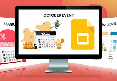 30 Free Google Calendar Templates For Google Slides, Docs, and Sheets