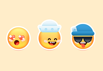 Affinity emoji preview