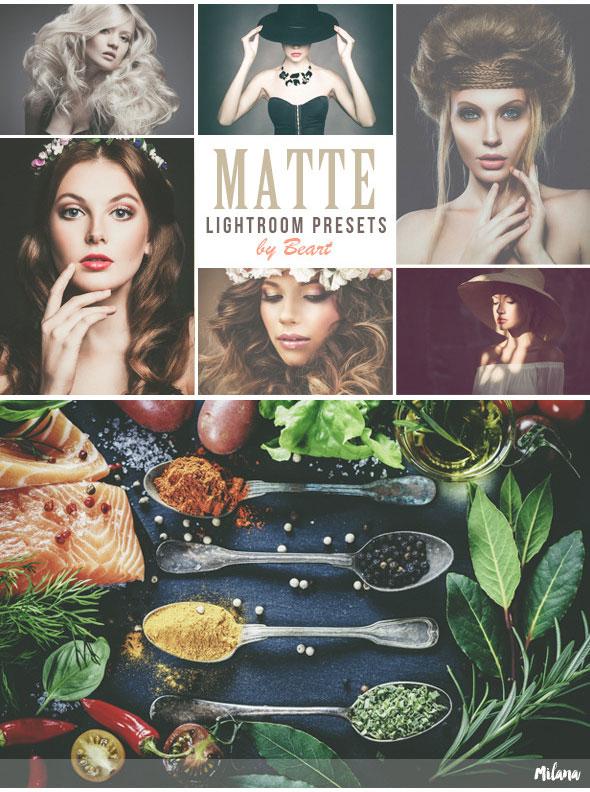 Premium Matte Lightroom Presets