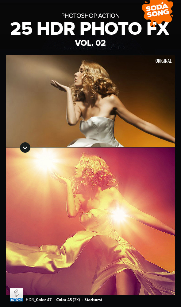 Photoshop HDR Actions