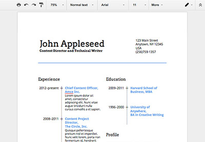 how to make a professional resume in google docs how to make a resume on