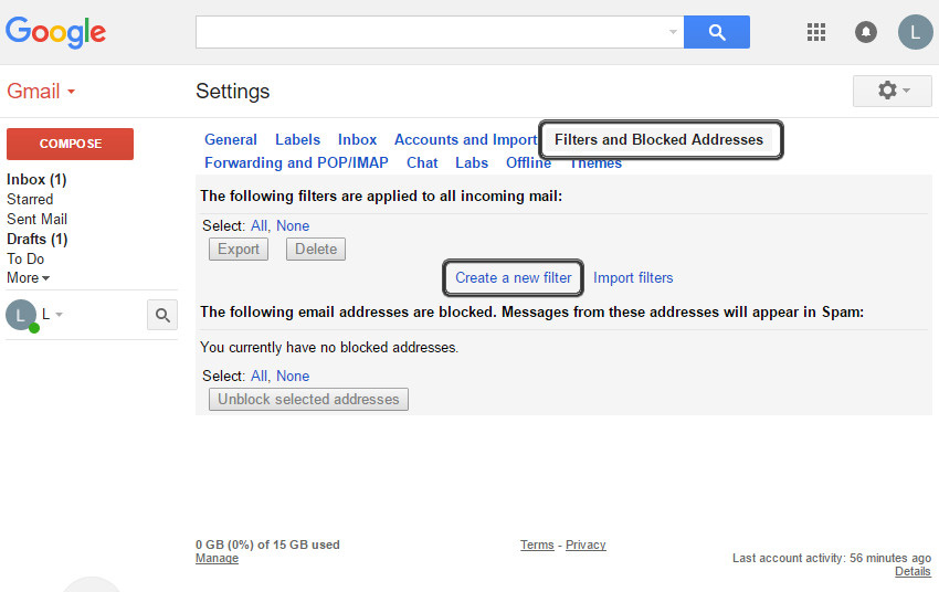 Set up new gmail account how to combine all your email for Acc email