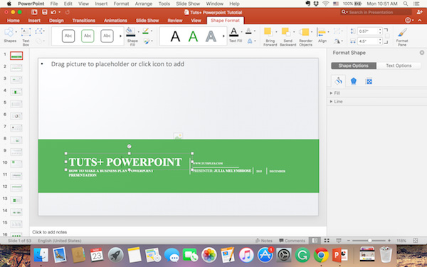 how do you make a business plan powerpoint presentation