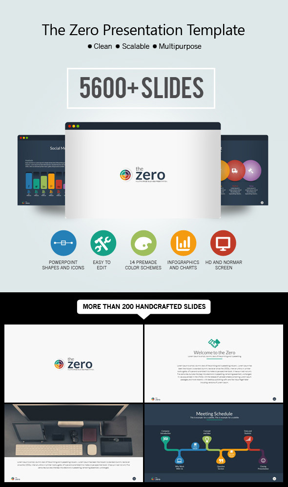 Business Infographic Presentation Theme