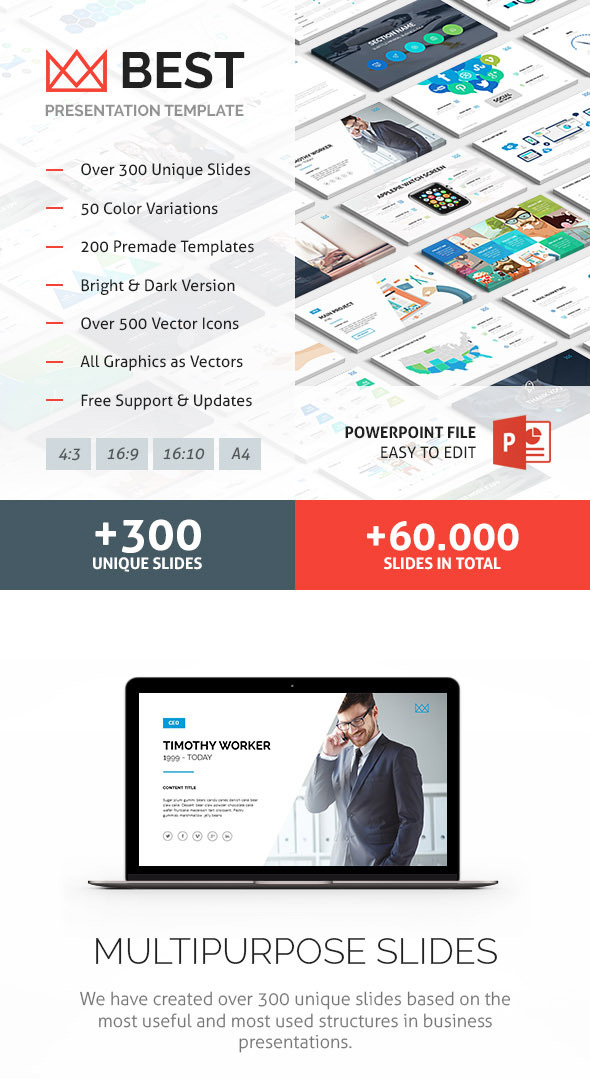 12 best powerpoint presentation templateswith great infographic best business ppt template toneelgroepblik