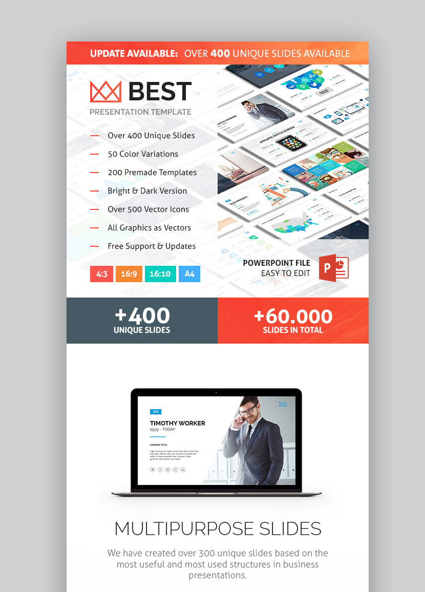 15 best powerpoint presentation templateswith great infographic slides business powerpoint ppt graphic presentation theme this best powerpoint presentation templates flashek Images