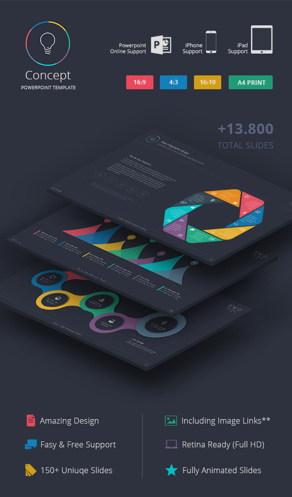 12 best powerpoint presentation templates—with great infographic, Modern powerpoint