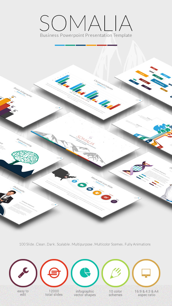 Creative PowerPoint Infographic Template