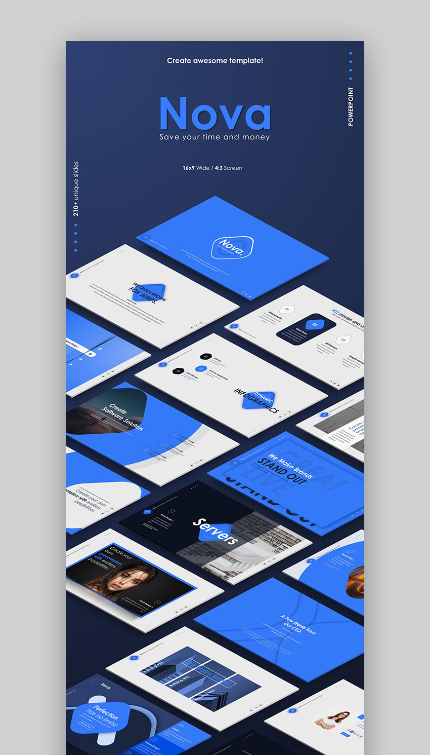 Nova Graphic Powerpoint Presentation Template